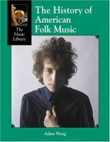 Cover image for The history of American folk music