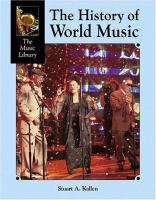 Cover image for The history of world music