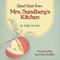 Cover image for Good food from Mrs. Sundberg's kitchen