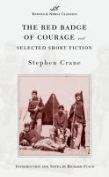 Cover image for The red badge of courage and selected short fiction