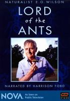 Cover image for Lord of the ants naturalist E.O. Wilson