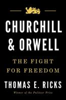 Cover image for Churchill and Orwell : the fight for freedom