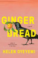 Cover image for Gingerbread : a novel