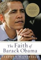 Cover image for The faith of Barack Obama