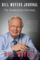 Cover image for Bill Moyers journal : the conversation continues