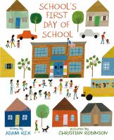 Cover image for School's first day of school