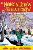 Cover image for Nancy Drew and the Clue Crew. #3,  Enter the dragon mystery
