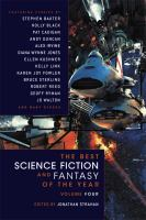 Cover image for The best science fiction and fantasy of the year. Volume four