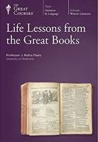 Cover image for Life lessons from the great books