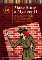Cover image for Make mine a mystery II : a reader's guide to mystery and detective fiction