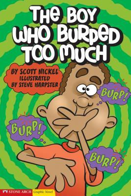 Cover image for The boy who burped too much