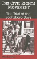 Cover image for The trial of the Scottsboro boys