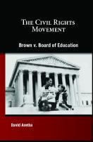 Cover image for Brown v. Board of Education