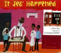 Cover image for It jes' happened : when Bill Traylor started to draw
