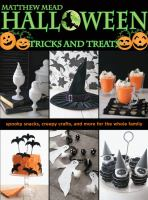Cover image for Halloween : tricks and treats