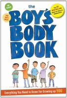 Cover image for The boy's body book