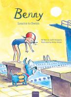 Cover image for Benny learns to swim