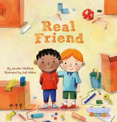 Cover image for A Real Friend