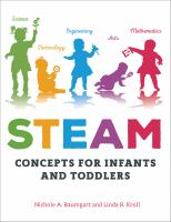 Cover image for STEAM concepts for infants and toddlers