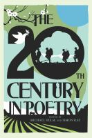 Cover image for The 20th century in poetry