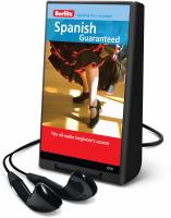 Cover image for Spanish guaranteed