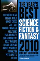 Cover image for The year's best science fiction & fantasy 2010