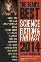 Cover image for The year's best science fiction & fantasy 2014