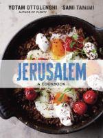 Cover image for Jerusalem : a cookbook