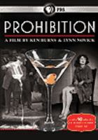 Cover image for Prohibition