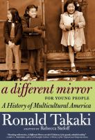 Cover image for A different mirror for young people : a history of multicultural America
