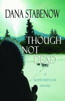 Cover image for Though not dead