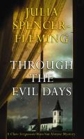 Cover image for Through the evil days