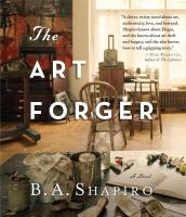 Cover image for The art forger a novel
