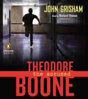 Cover image for Theodore Boone. The accused