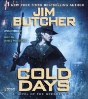 Cover image for Cold days : a novel of the Dresden files