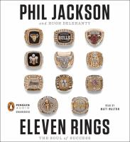 Cover image for Eleven rings : the soul of success
