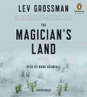 Cover image for The magician's land : a novel