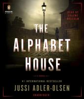Cover image for The alphabet house