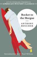 Cover image for Rocket to the morgue