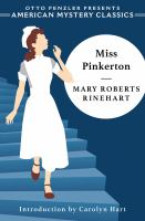 Cover image for Miss Pinkerton