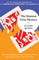 Cover image for The Siamese twin mystery