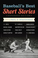 Cover image for Baseball's best short stories