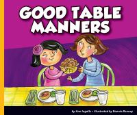Cover image for Good table manners