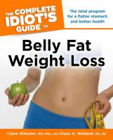 Cover image for The complete idiot's guide to belly fat weight loss