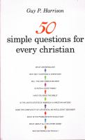 Cover image for 50 simple questions for every Christian