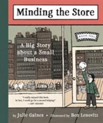 Cover image for Minding the store : a big story about a small business