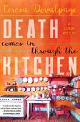 Cover image for Death comes in through the kitchen