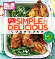 Cover image for Taste of Home simple & delicious cookbook.