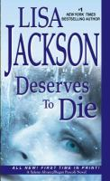 Cover image for Deserves to die