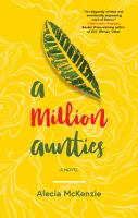 Cover image for A million aunties : a novel